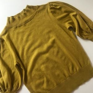 XS Chartreuse Sweater by Leith
